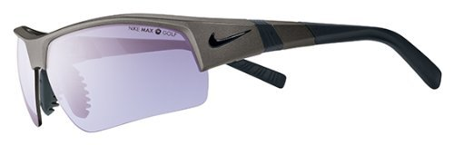 Nike Show X2 Pro PH Sunglasses, Metallic Pewter, Max Transitions Golf Tint Lens