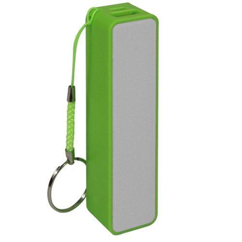 Skque 2600mAh tragbares Mini-USB Power Bank-externes Ladegerät für iPhone, iPad, MP3, MP4 und andere Handys, grün