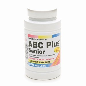 Nature'S Bounty Abc Plus Senior Tablets 100Ct 100 Ea