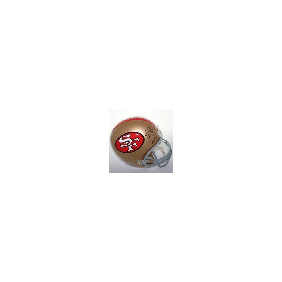 Steve Young Autographed San Francisco 49ers Riddell Throwback Full