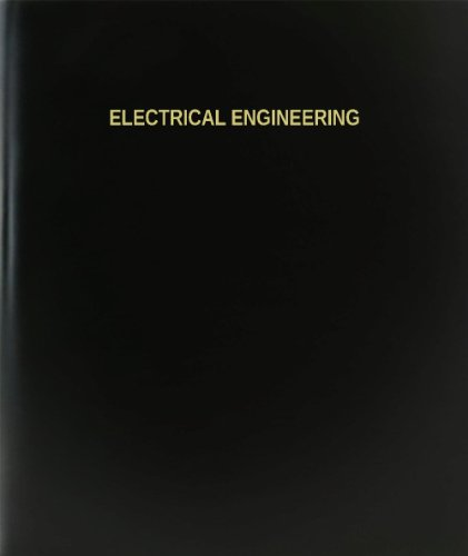 "Bookfactory® Electrical Engineering Log Book / Journal / Logbook - 120 Page, 8.5""X11"", Black Hardbound (Xlog-120-7Cs-A-L-Black(Electrical Engineering Log Book))"
