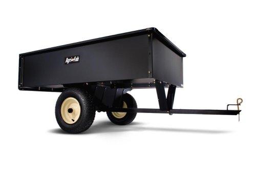 Agri-Fab 17-Cubic-Foot Heavy Duty Steel Tow Dump Cart 45-0184