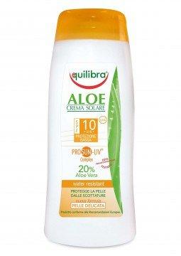 Equilibra Aloe crema solare spf10 200ml
