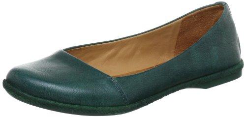 Naya OLYMPIA Ballet Flats Women green Grün (Petrolio) Size: 8 (42 EU)