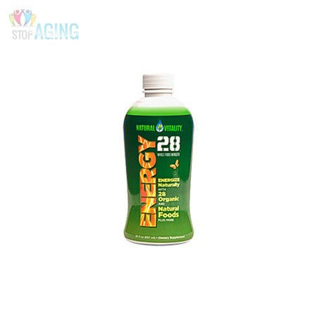 Peter Gillham's Nat Vitality Energy 28 Whole Food Energizer 887 ml