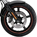 H-D 19 Front VRSC Black Reactor Custom Wheel 43501-08