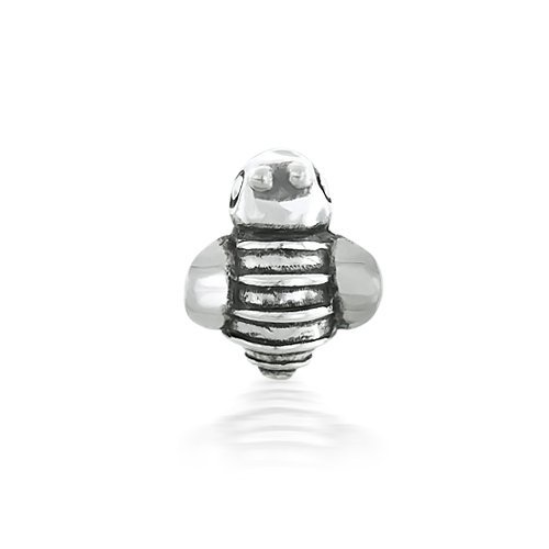 Bling Jewelry Sterling Silver Bumble Bee Animal Bead Fits Pandora Bead Charms