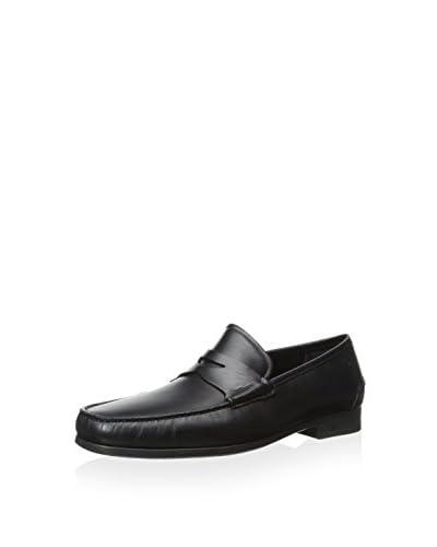 Salvatore Ferragamo Men's Moc Toe Penny Loafer
