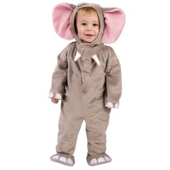 Cuddly Elephant Baby Costume 6-12 Months