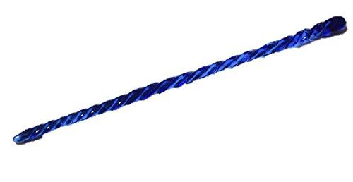 ガラス プラグ 最大直径:全長:200mm 直径:5mm ブルー