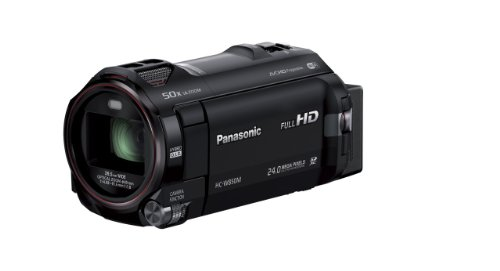 Panasonic デジタルハイビジョンビデオカメラ 内蔵メモリー64GB ブラック HC-W850M-K