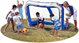 Large Backyard Inflatable Soccer Goal