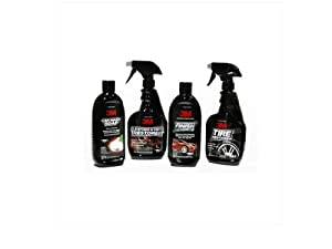 3M Professional Complete Car Care Gift Kit (Soap, Interior & Tire Cleaner, Wax). 3MGiftSet. 39000, 39040, 39042, 39030. from 3M