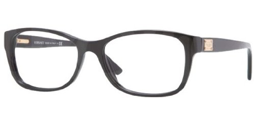 Versace VE3184 Eyeglasses-GB1 Black-54mm