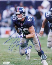 Signed Shockey, Jeremy (New York Giants) 8x10 Photo autographed at Amazon.com