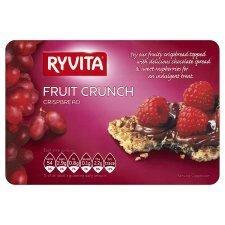 Ryvita Fruit Crunch Crispbread 200g