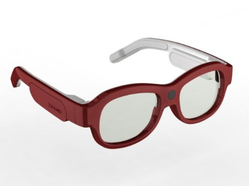 Xpand X104SX1 YOUniversal 3D Glasses, Small (Red) (Discontinued by Manufacturer)