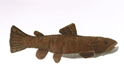 10quot Brown Trout Fish Plush Stuffed Animal Toy