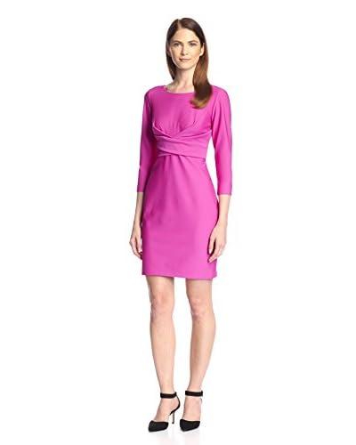 Donna Ricco Women's Criss Cross Sheath Dress