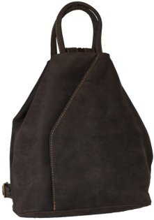 Visconti Oiled Leather Backpack Style 18064 Oil Brown