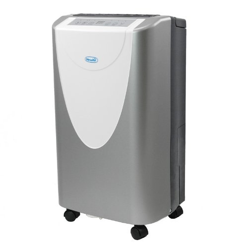 NewAir AD400 40 Pint Portable Dehumidifier with Adjustable Humidistat and Timer