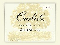 Carlisle Zinfandel Dry Creek Valley 2010 750Ml