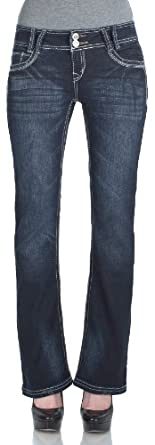 WallFlower Juniors Luscious Curvy Bootcut Jeans in Kaylee Size: 0