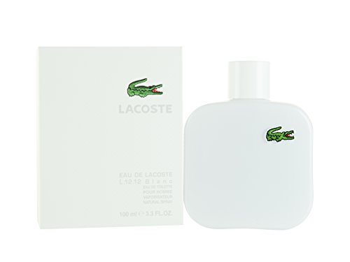 Lacoste Eau De Lacoste L.12.12 Blanc Men Eau-de-toilette Spray by Lacoste, 3.3 Ounce