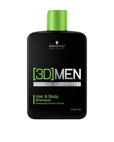SCHWARZKOPF Dusch-Shampoo 3DMen 250 ml, Preis/100 ml: 3.58 EUR