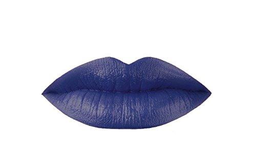 Blue Liquid Matte Lipstick, Power - A Wa