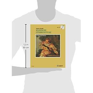 Klassische Gitarrenstücke in Noten und Tabulatur. Plus CD