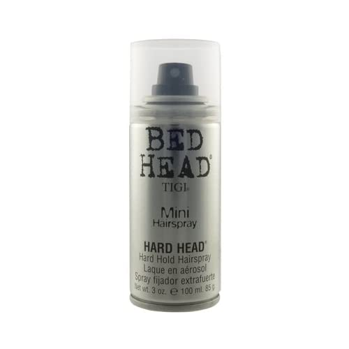 Amazon.com : TIGI Bed Head Hard Head Mini Hairspray 3.0 oz : Hair