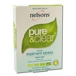 Nelsons Homeopathy Acne Treatment Tablets (Sulphur 30c) 48 tablets