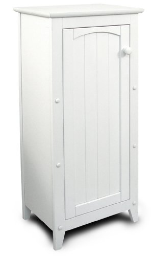 Catskill Craftsmen Single Door Kitchen Cabinet, White (Assembled Kitchen Cabinets compare prices)
