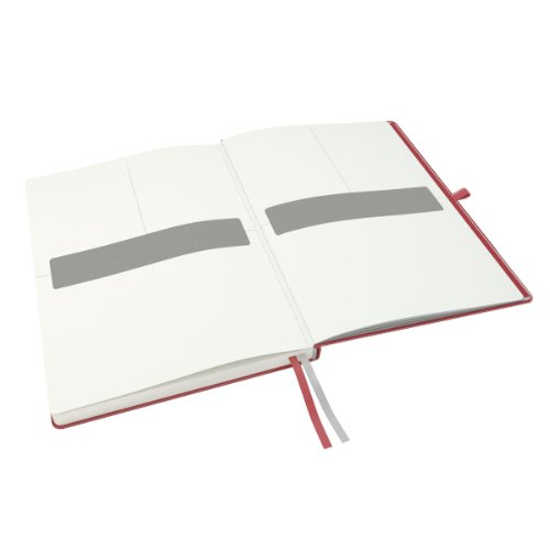 Leitz A5 Complete Hard Cover Ruled Notebook - Red