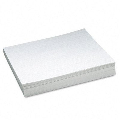 Newsprint Practice Paper - 2nd Grade, White, 500 Sheets/Ream(sold in packs of 3)