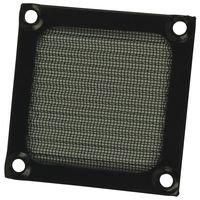 Qualtek Electronics Corp. 06250-B Filter; 06 Series; 2-1/2 In. Fan; Aluminum; Black; 2.36 In. H X 0.138 In. W