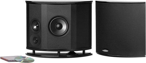 Polk Audio Lsim702 F/X High Performance Surround Speaker, 1 Pair, (Black)