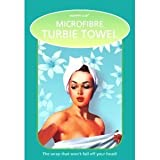 Microfibre Turbie Twist Hair Towel, White, Lightweight Loop System, Quick Drying
