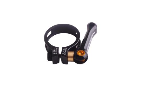 Token TK1665Ti Bike Seat Post Clamp 34.9 mm 7075 AL Ti Bolts Black Road MTB
