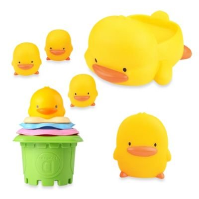 Piyo And Piyo ' Bath Toy Gift Set