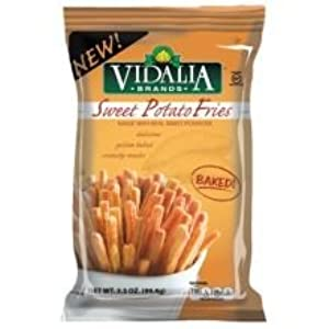 Vidalia Sweet Potato Sticks, 3.5 Ounce -- 12 per case.