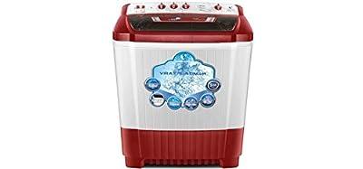 Videocon WM VS90P20-DRK Semi Automatic Top Loading 9 Kg Washing Machine (Dazzle Red)