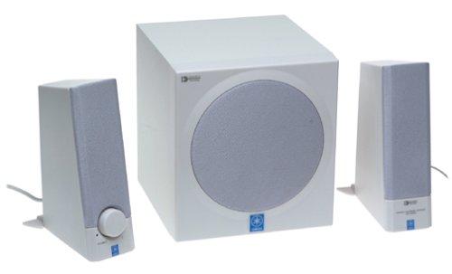 yamaha ystms201w 30 watt 2 1 computer speakers 3 speaker