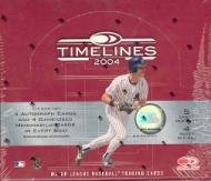 2004 Donruss Timelines Baseball Cards Unopened Hobby Box