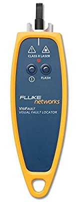 Fluke Networks VISIFAULT Visual Fault Locator with 2.5mm Universal Adapter, Fiber Tester