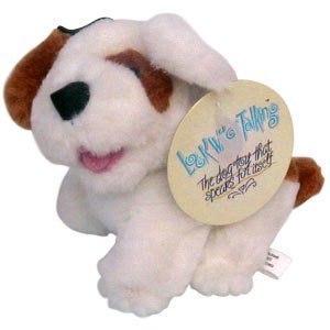 MultiPet Look Who is Talking Dog Plush 6""