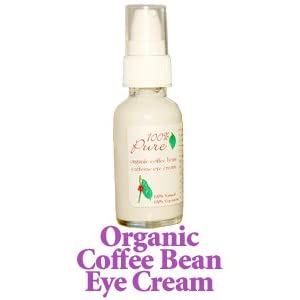 100% Pure Cosmetics - Organic Coffee Bean Eye Cream