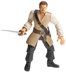 Buy Low Price Zizzle Pirates of the Caribbean 2: Will Turner 7″ Pirate Battler Figure (B000HVTH4M)