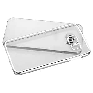Soft Transparent back cover for Samsung Galaxy Core Prime (SM-G360) silver